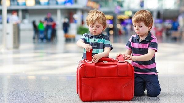Lunghi viaggi con bambini