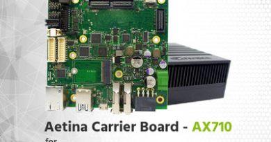 Aetina anuncia la nueva placa AX710 para Nvidia Xavier