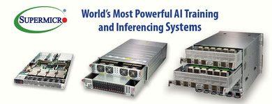 Supermicro oferece portfólio completo de sistemas GPU da NVIDIA